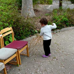 Street Sweeper | 公園清掃人