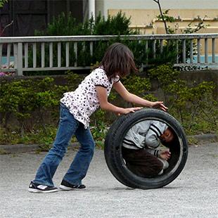 Tyre Ride | タイヤ遊び